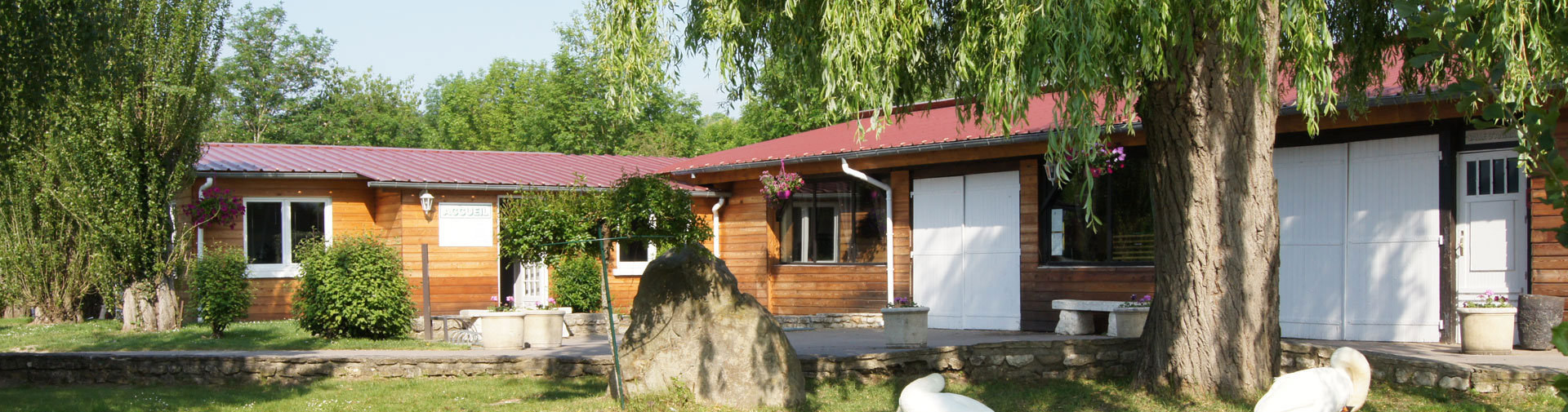 Location mobil-home lodge – 5/6 pers