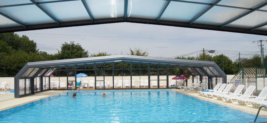 Camping avec piscine couverte en eure et loir camping for Camping normandie piscine couverte