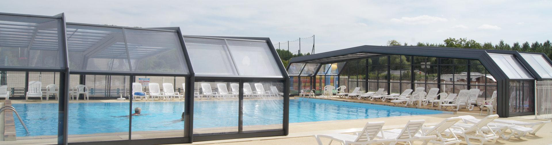 Camping avec piscine couverte en eure et loir camping for Camping quiberon piscine couverte
